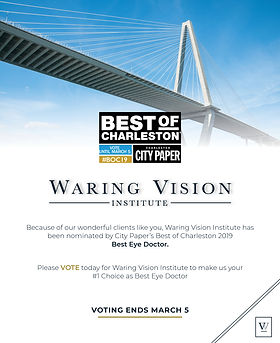 Best of Charleston Waring Vision Institute Darius Kelly Design