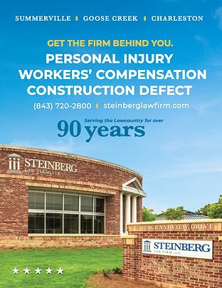 Steinberg Law Firm Advertising Charleston,SC Darius Kelly Design