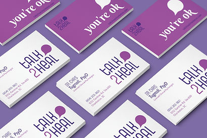Talk 2 Heal Business Card