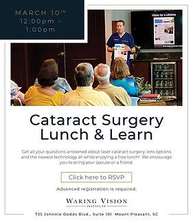 Cataract Surgery Mount Pleasant SC