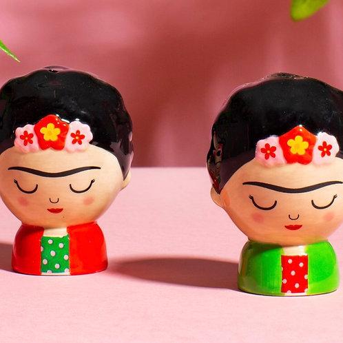 Frida Salt & Pepper Pots