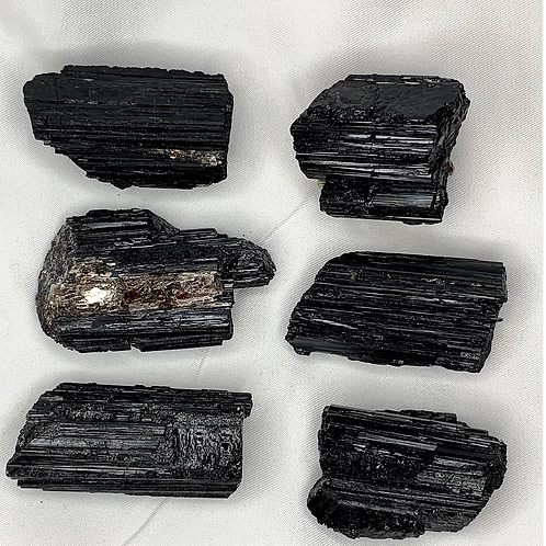 Black Tourmaline Raw Crystal