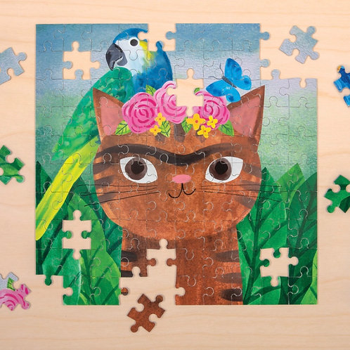 Frida Catlo Jigsaw Puzzle – 100 Pieces
