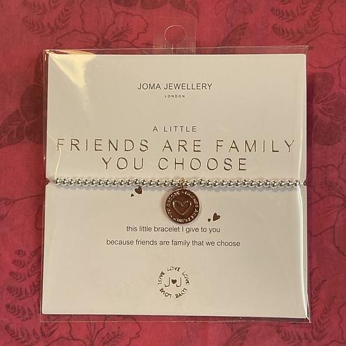 Friends Are Family Bracelet