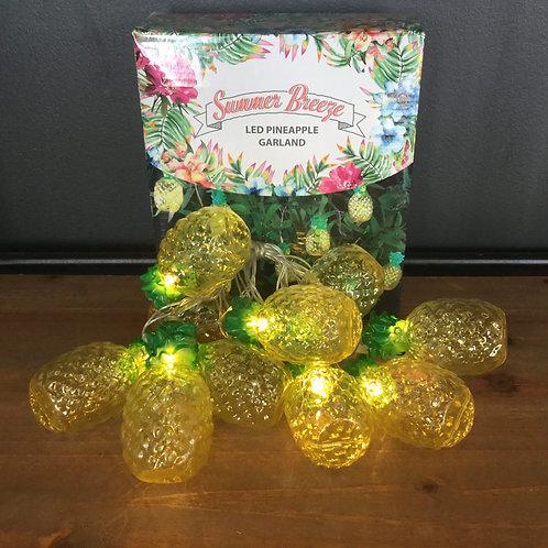 LED Pineapple Garland