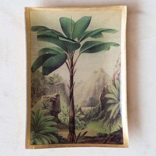 Palm Tree Trinket Tray