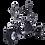 Thumbnail: Электроскутер Citycoco Kugoo С5 Pro