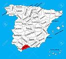 72499630-mapa-de-málaga-españa-mapa-vect