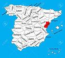 72458436-mapa-de-castellón-españa-mapa-v