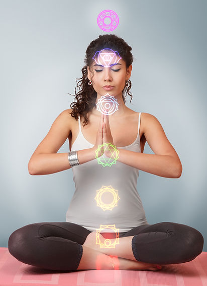 meditate and align your chakras. be. real Retreat