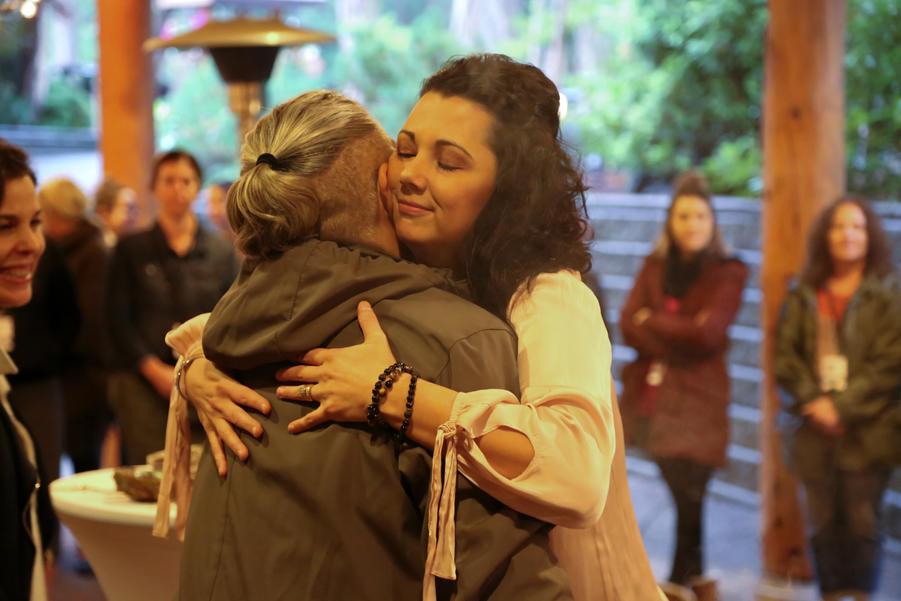 Healing hugs