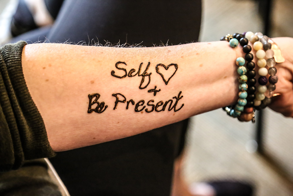 Self <3 + Be Present