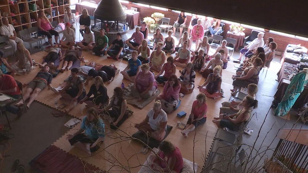be. real group meditaiton