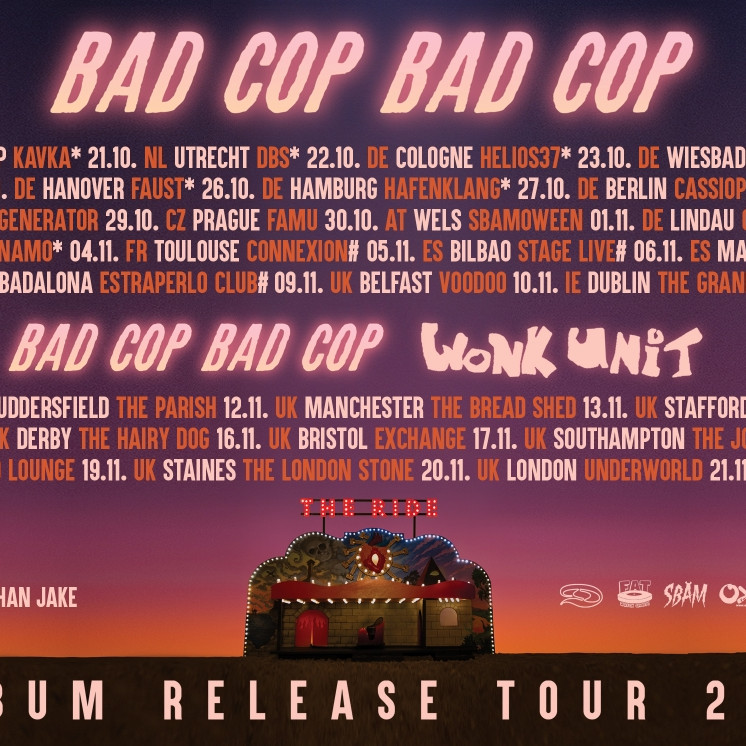 Bad Cop / Bad Cop · Support: March