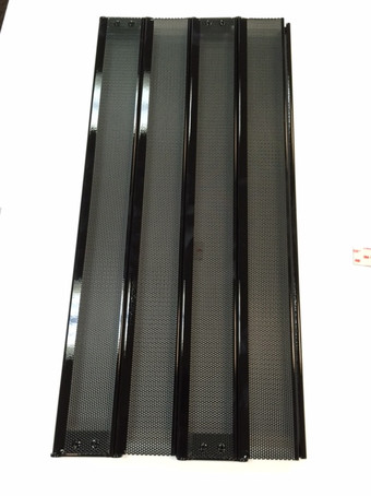 Metro Door Perforated Steel Panel