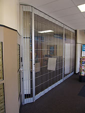 Metro Door Side-Folding Grille Open-Air Series