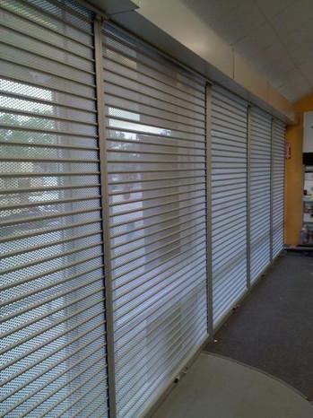 Metro Door Rolling Shutter - Perforated
