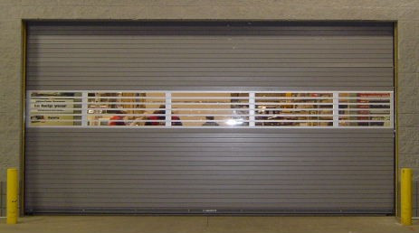 Rolling Steel Door - Vision Series