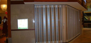 Metro Door Side-Folding Grille Screenguard Series