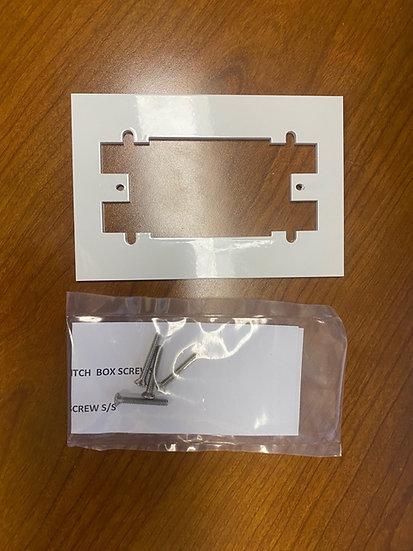 4 Hole to 2 Hole Keyswitch Adaptor Plate