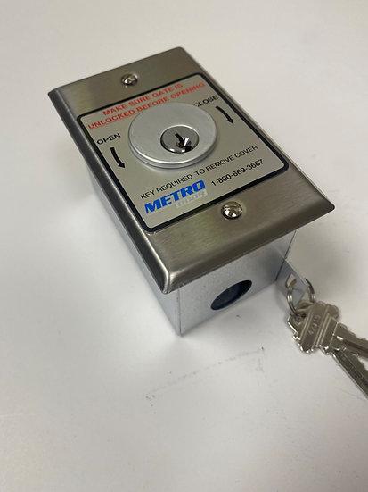 Key Switch STD Cyl (2 Screw Face Plate)