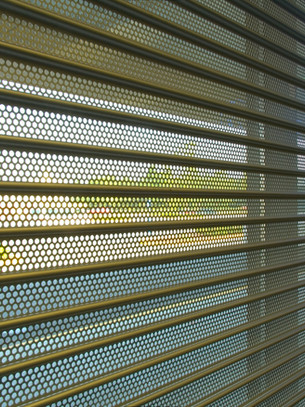 Rolling Shutter - Perforated Series