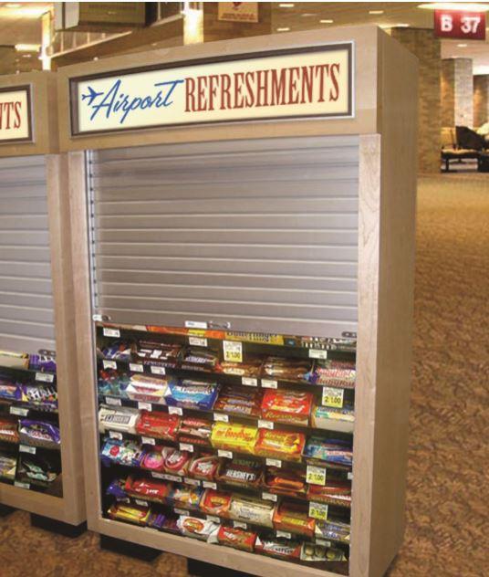 Kiosk Shutter