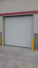 Metro Door Rolling Steel Non-Insulated Door