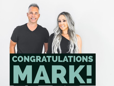 Celebrating our client Mark today!
