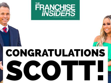 Congratulations Scott!