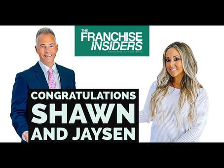 Congratulations Shawn and Jaysen!