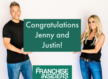 Congratulations to our great clients Jenny and Justin on becoming franchise owners! 🎊🎉🍾🎊👊👊👊