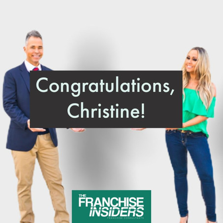 🎉Congratulations to our wonderful client, Christine!🎉