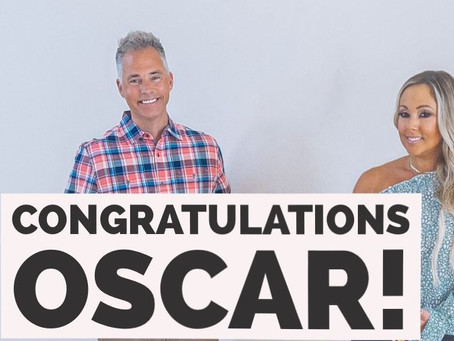 Congratulations to our client Oscar!