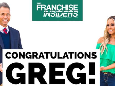 Congratulations Greg!