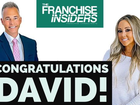 Congratulations David!