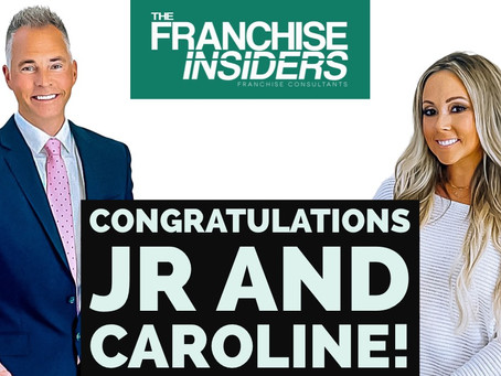 Congratulations JR and Caroline! 🚀