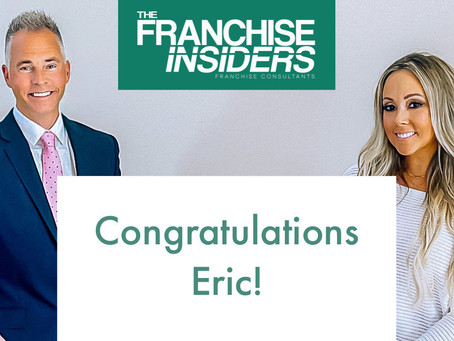 Congratulations To Our Client Eric!