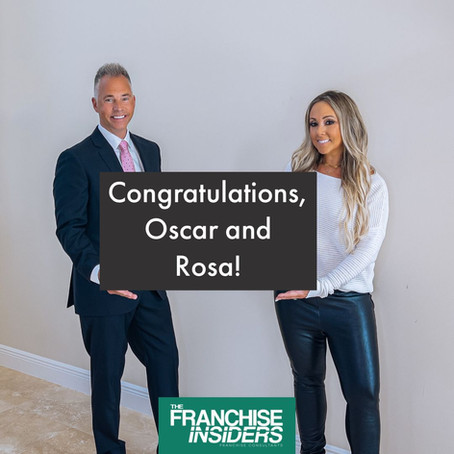 Congratulations Oscar and Rosa!