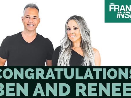 Congratulations Ben and Renee!