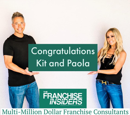 🎊🎉Congratulations to our great clients Kit and Paola on becoming business owners!🎊🎉
