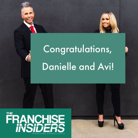 HUGE Congratulations go out to our clients Danielle and Avi!
