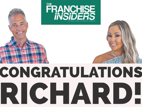 Congratulations Richard!