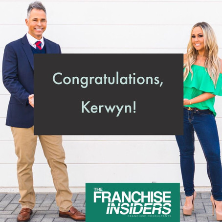 Congratulations to our great client Kerwyn!