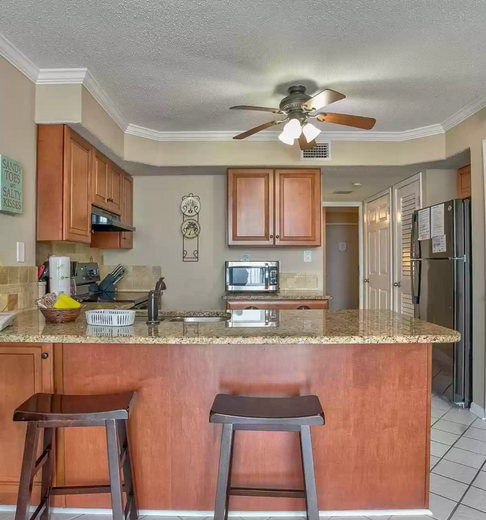 Small space - lots of room for a family or party of 4!