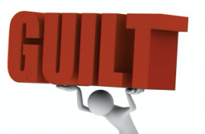 LOADED DOWN WITH GUILT?