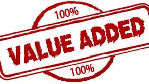 Added Value Relationships…