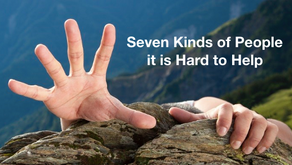 Seven Kinds of People it is Hard to Help.