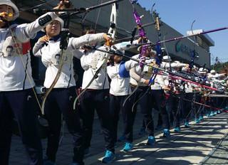 Has Korea got the best approach to archery technique?