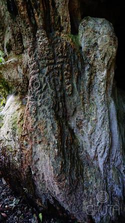 Abrigo El Búho - Petroglifo